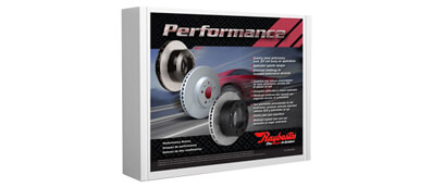 Performance Brake Pads and Rotors