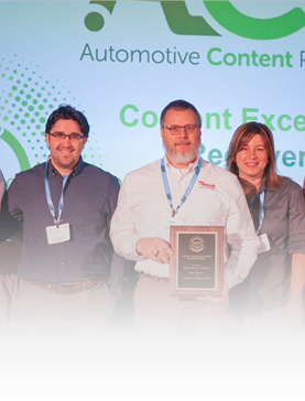 Brake Parts Inc Receives 2019 Content Excellence Award Receiver's Choice