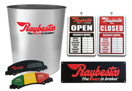 Raybestos® Shop Kit Promotion