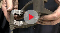 Video on Best Brake Job: Cleaning Bracket & Installing Pads